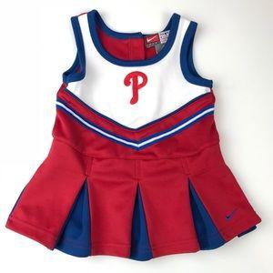 Nike Philadelphia Phillies Cheerleading Dress 12M